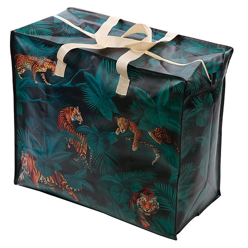 Fun Practical Laundry & Storage Bag - Big Cat Spots and Stripes Novelty Gift