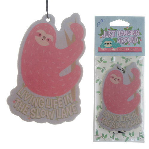 Cute Sloth Design Strawberry Scented Air Freshener Novelty Gift