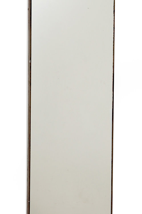 Grey Wood Wall Mirror 121cm Shipping furniture UK