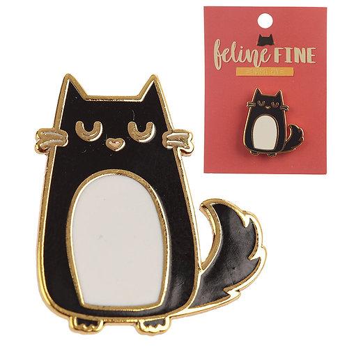 Cute Cat Design Enamel Pin Badge Novelty Gift