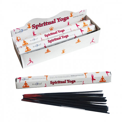 Spiritual Yoga Stamford Hex Incense Sticks Novelty Gift