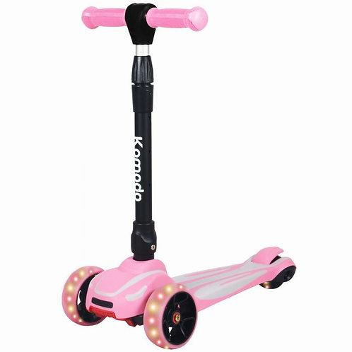 3 Wheel Scooter - Pink   Home Essentials UK
