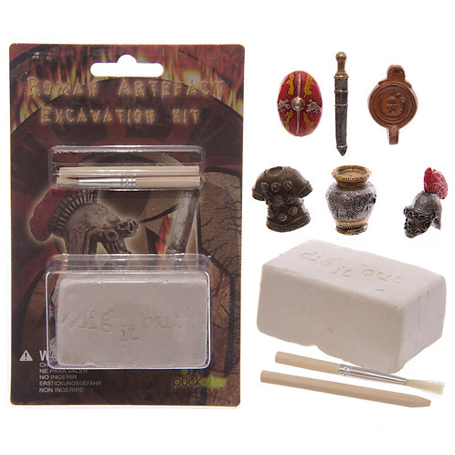 Fun Excavation Kit - Ancient Roman Treasure Novelty Gift