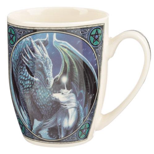 Lisa Parker Porcelain Mug - Protector of Magick Dragon Novelty Gift
