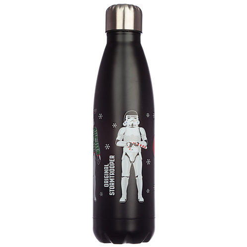 Christmas Stormtrooper Stainless Steel Insulated Drinks Bottle Novelty Gift