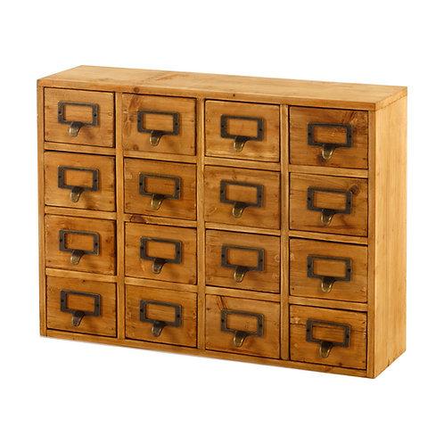 Storage Drawers (16 drawers) 35 x 15 x 46.5cm Shipping furniture UK