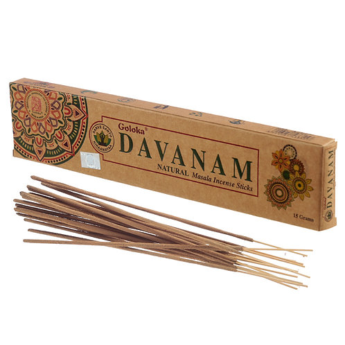 Goloka Incense Sticks - Davanam Novelty Gift