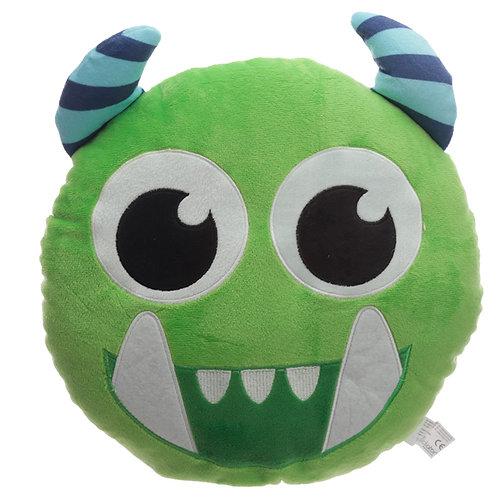 Fun Green Plush Monstarz Monster Cushion Novelty Gift