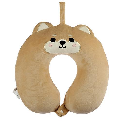 Shiba Inu Dog Relaxeazzz Plush Memory Foam Travel Pillow Novelty Gift
