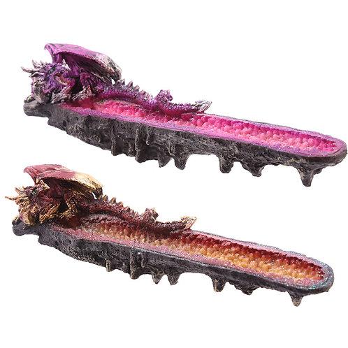 Crystal Geode Dark Legends Dragon Ashcatcher Novelty Gift