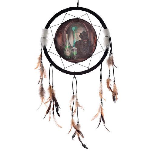 Decorative Lisa Parker Absinthe Cat Dreamcatcher Medium Novelty Gift