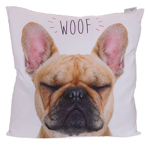 Decorative French Bulldog Cushion Novelty Gift