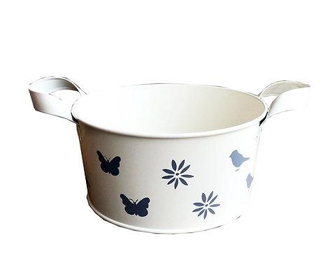 Cream Enamel Bowl- Small Shipping furniture UK