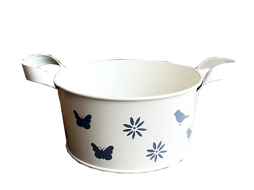 Cream Enamel Bowl- Small Shipping furniture UK