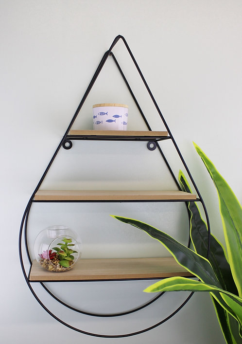 Teardrop Shelving Unit, Three Shelves  Shipping furniture UK