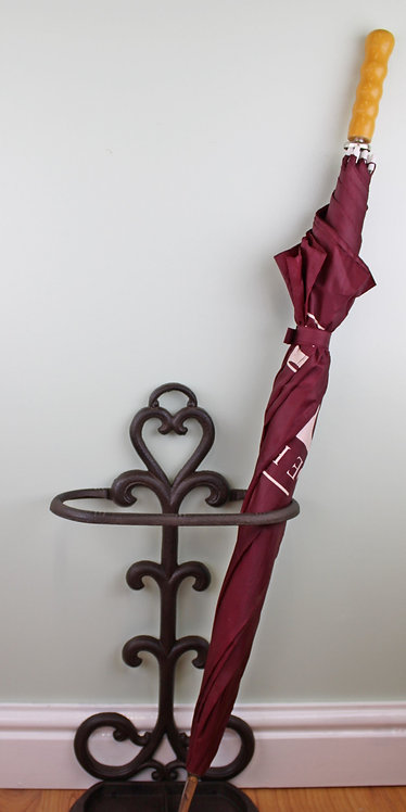 Rustic Cast Iron Umbrella Stand Shipping furniture UK