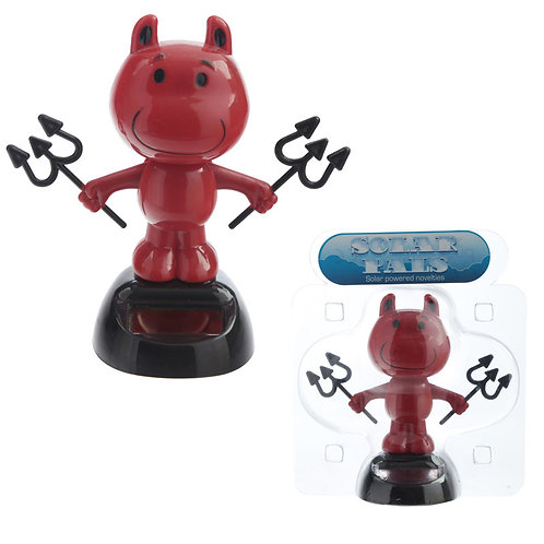 Novelty Gift Collectable Devil Solar Powered Pal