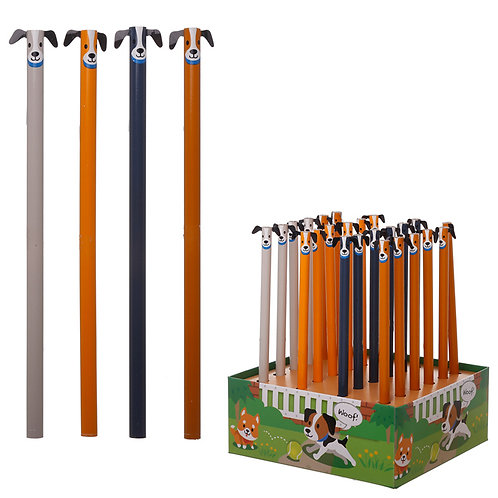 Fun Dog Pencil Novelty Gift [Pack of 2]