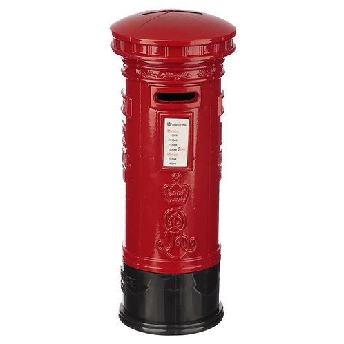 London Souvenir Pencil Money Box - Large Red Post Box Novelty Gift