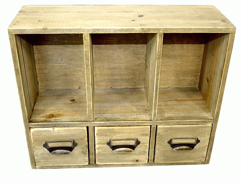 Office Organiser With Drawers 38 x 13 x 31cm Shipping furniture UK