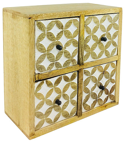 Cabinet With 4 Drawers 23cm Shipping furniture UK