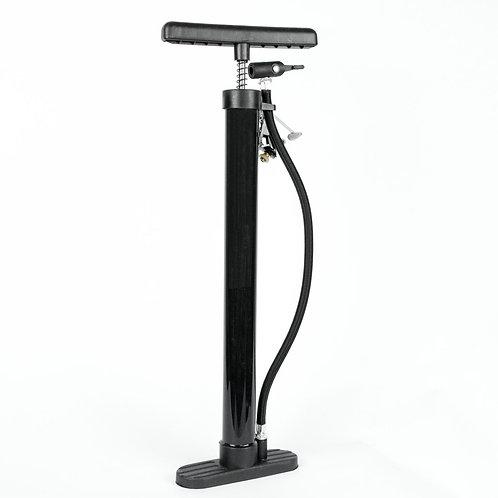 Komodo High Pressure Floor Standing Bike Pump - Black | Home Essentials UK