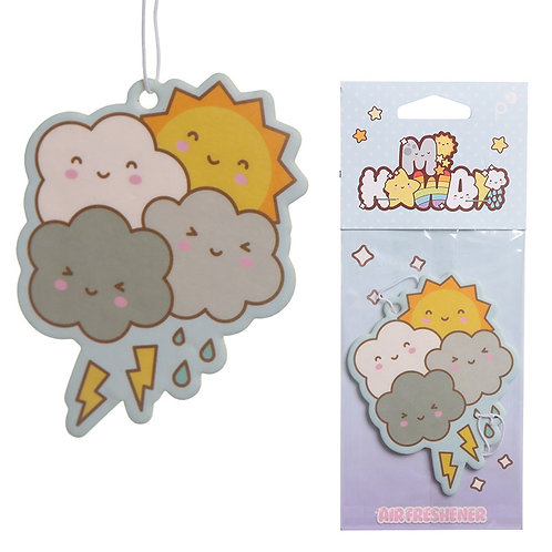 Raspberry Scented Kawaii Weather Air Freshener Novelty Gift
