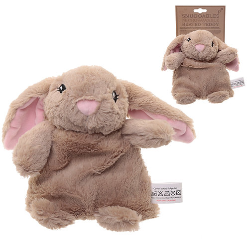 Cute Bunny Design Snuggables Microwavable Heat Wheat Pack Novelty Gift