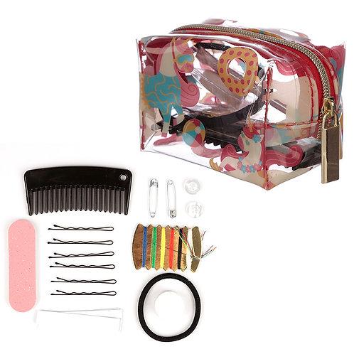 Novelty Handy Emergency Travel Kit - Vacation Unicorn Design Gift