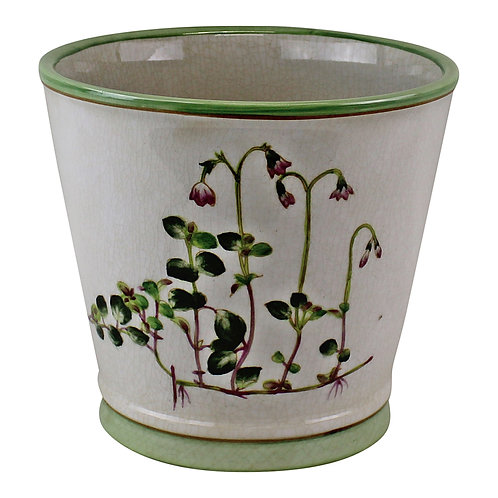 Ceramic Round Planter, Diameter 17cm Shipping furniture UK