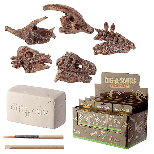 Fun Excavation Dig it Out Kit - Dinosaur Fossil Novelty Gift