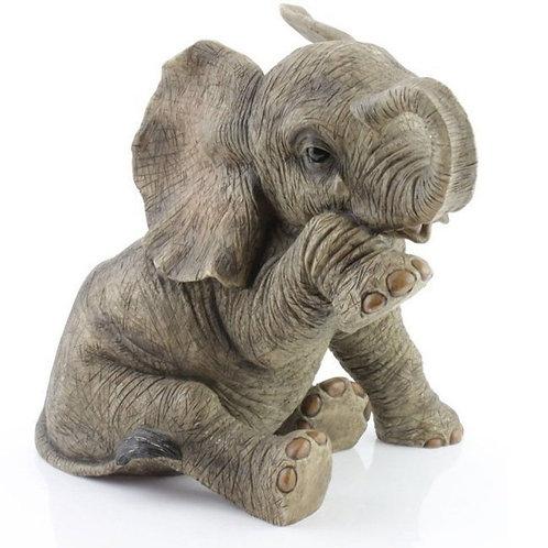 Large Elephant With Teardrop Shipping furniture UK