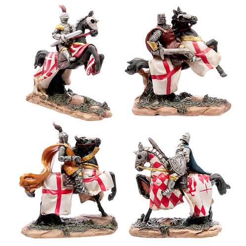 Battle Ready Novelty Knight Riding Horse Novelty Gift