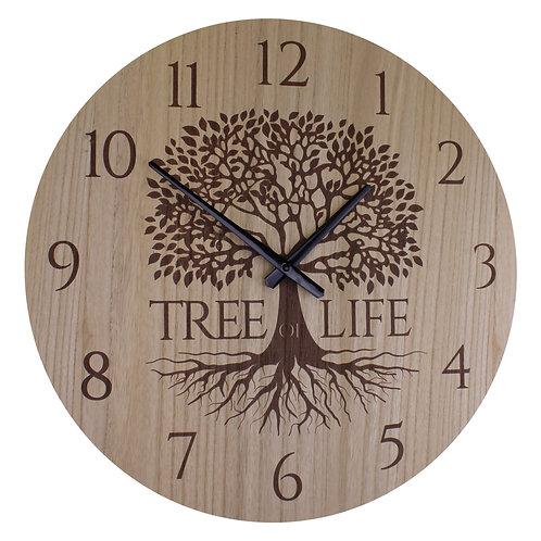 Large Tree Of Life Clock, 50cm. Shipping furniture UK