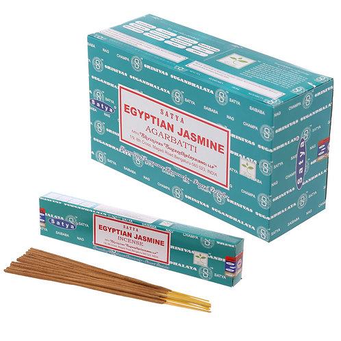 Satya Nag Champa Incense Sticks - Egyptian Jasmine Novelty Gift