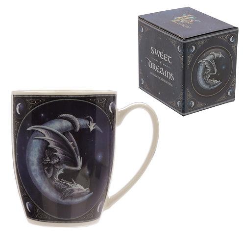 Sweet Dreams Dragon Design Lisa Parker Porcelain Mug Novelty Gift
