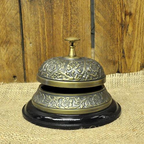 Antique Embossed Desk Bell Shipping furniture UK