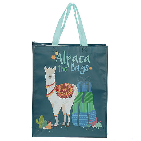 Alpaca the Bags Design Reusable Shopping Bag Novelty Gift