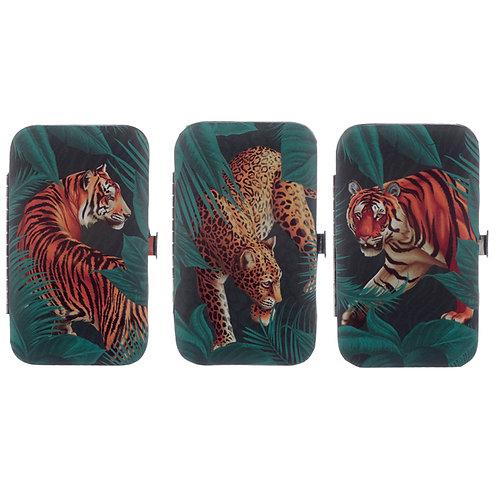 Big Cat Spots and Stripes Manicure Set Novelty Gift