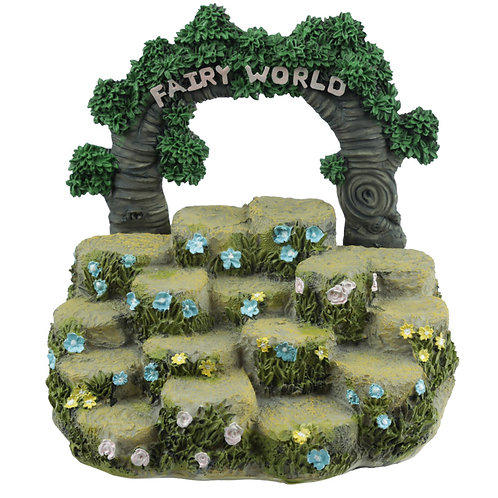 Cute Fairy Garden Tiered Display Stand Novelty Gift