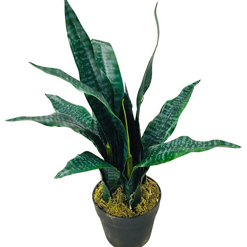 Artificial Mother in Law's Tongue Plant 58cm Shipping furniture UK