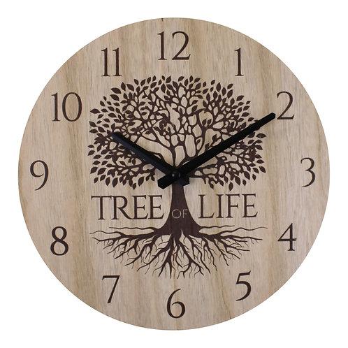 Small Tree Of Life Clock, 30cm. Shipping furniture UK