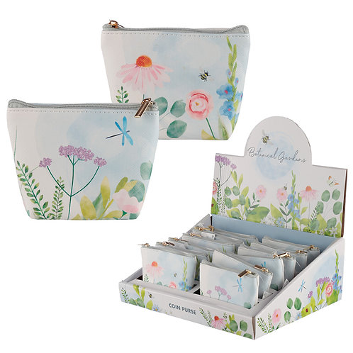 Handy PVC Purse - Botanical Gardens Novelty Gift