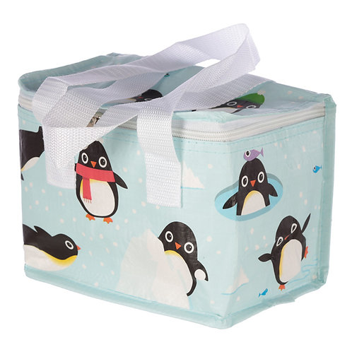 Cute Penguin Design Lunch Box Cool Bag Novelty Gift
