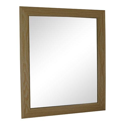 Light Oak Effect Mirror 59cm Shipping furniture UK