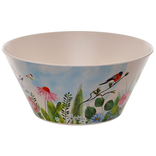 Bamboo Composite Botanical Gardens Salad Bowl Novelty Gift