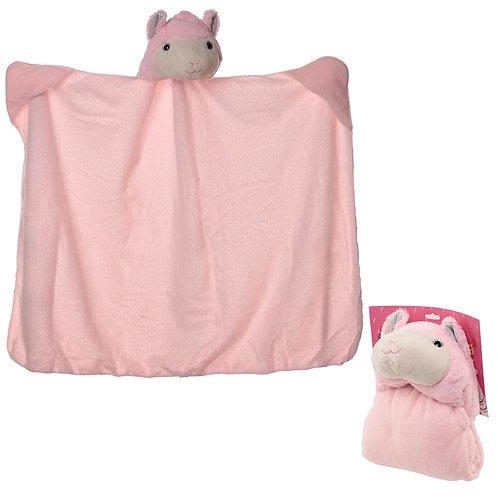 Plush Pink Llamapalooza Wearable Blanket Novelty Gift