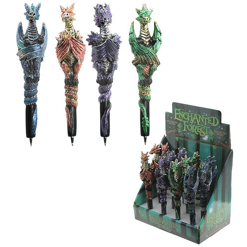 Fun Fantasy Dragon Pen Novelty Gift [Pack of 2]