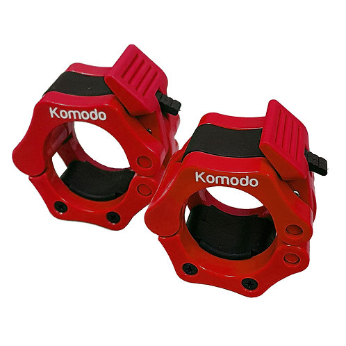 Komodo 2 Inch Spring Bar Collar - Red | Home Essentials UK