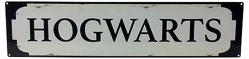 M4600Metal Street Sign HOGWARTS 70cm x17cm Shipping furniture UK